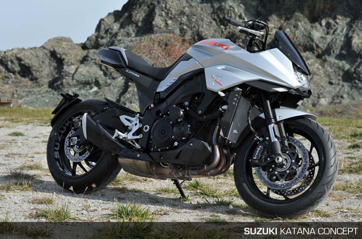 That Suzuki Katana 3.0 Concept Though...